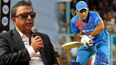 Photo of Sunil Gavaskar reacts after MS Dhoni's 'dry ball will turn'