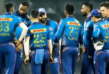 Photo of MI Captain Rohit upset by the middle-order batsman