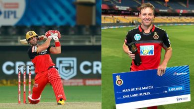 Photo of De Villiers became the first player to receive the 25th Man of the match in IPL