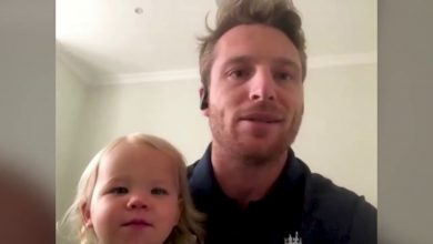 Photo of IPL 2021: Jos Buttler's 'Gangnam Style' Dance with Daughter,