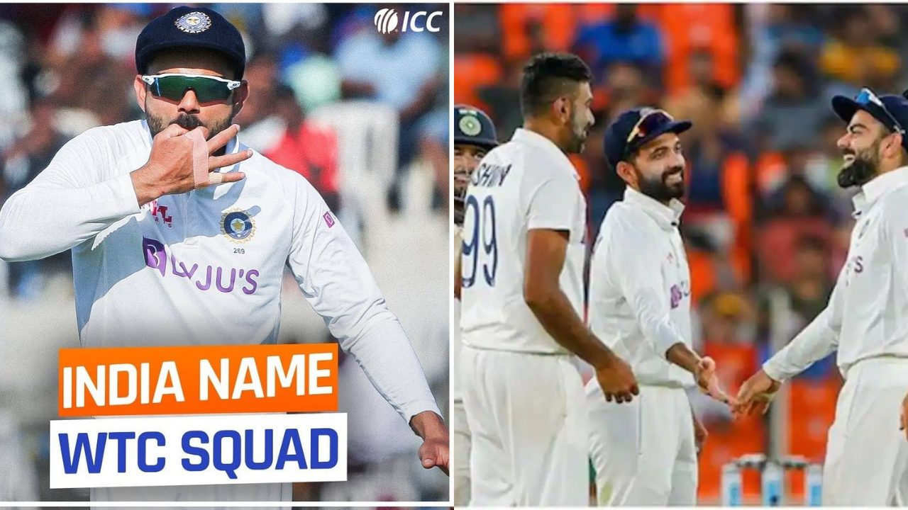 India squad for WTC final