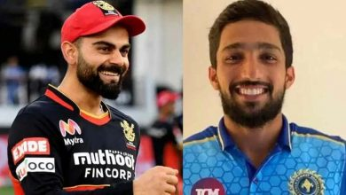 Photo of IPL 2021: RCB's Mohammed Azharuddeen To Get Kohli's Autographed Jersey