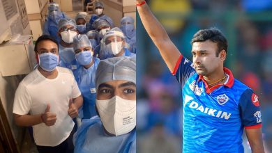 Photo of Amit Mishra came out of the quarantine by defeating Corona