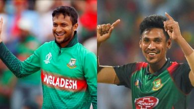 Photo of Shakib and Mustafizur will not play in second part of IPL 2021