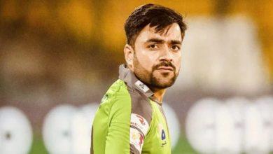 "Photo of ""Rashid Khan who broke our back with his five wickets"" Malik said."