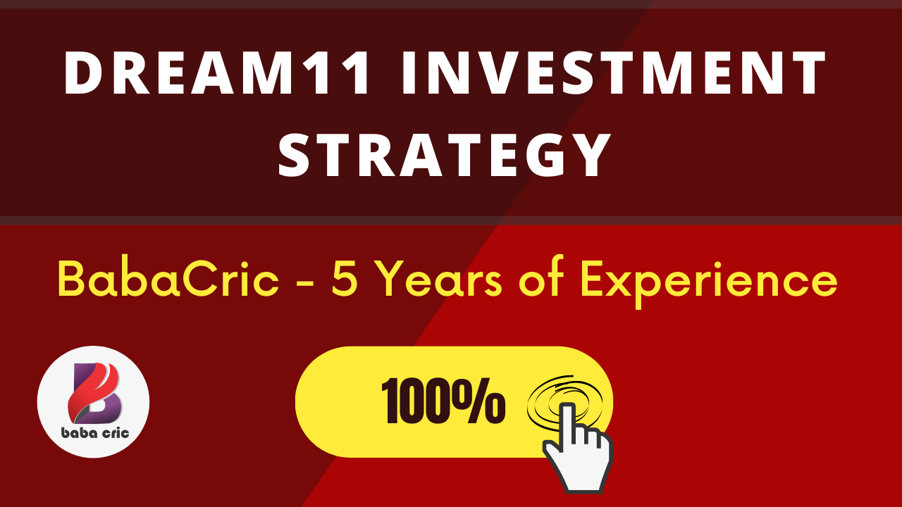 Dream11 investment strategy