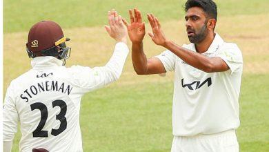 Photo of Ravichandran Ashwin joins Surrey's squad for County Championship