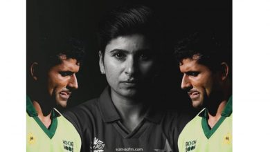 Photo of Nida Dar's Dignified Response to Razzaq's Sexist Comment
