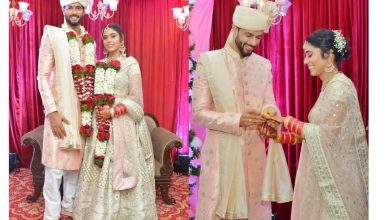 Photo of Shivam Dube gets married to girlfriend Anjum Khan