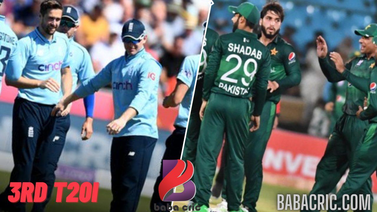 Eng vs Pak 3rd T20I