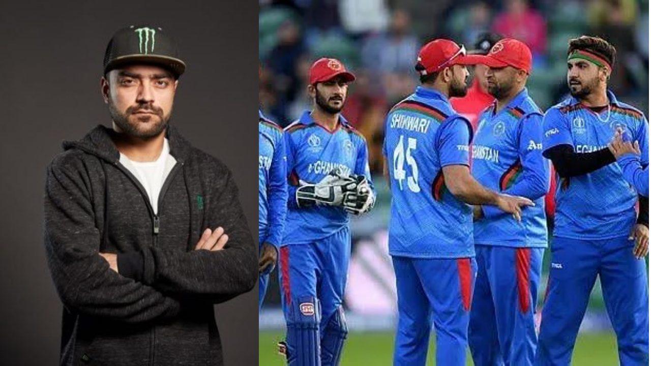 Rashid khan and ACB team