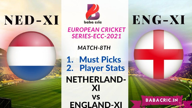NED XI vs ENG XI